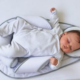 Perna cu paturica bebelusi Panda Pad Air + Candide