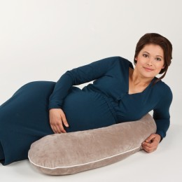 Perna alaptare 3 in1 Multirelax Jersey Gris Bluete Candide