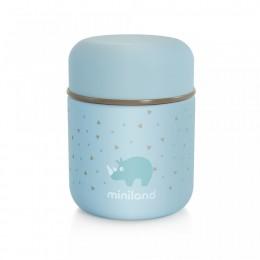 Termos Mancare Solida Silky Mini 280 ml Azure Miniland