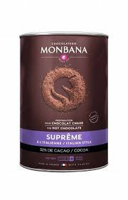 Ciocolata calda Monbana