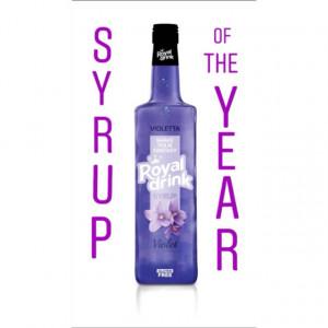 Sirop de Violete Royal Drink
