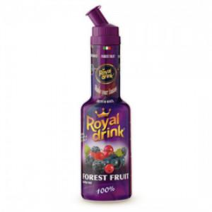 Piure din pulpa de fructe de padure Royal Drink 0.75cl