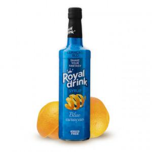 Sirop de Bar Blu Curacao Royal Drink
