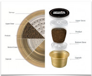 Capsule Caffitaly Intenso