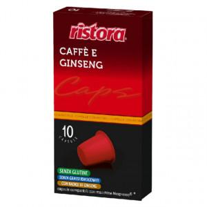 Capsule Ristora Ginseng, compatibile Nespresso