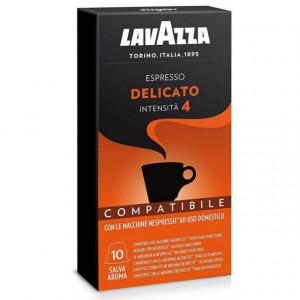 Capsule Lavazza Espresso Delicato compatibile Nespresso 10 buc