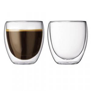 Set 2 Pahare Espresso Lavazza cu perete dublu
