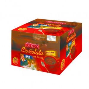 Ciocolata calda densa plic Ristora , 50 Buc.