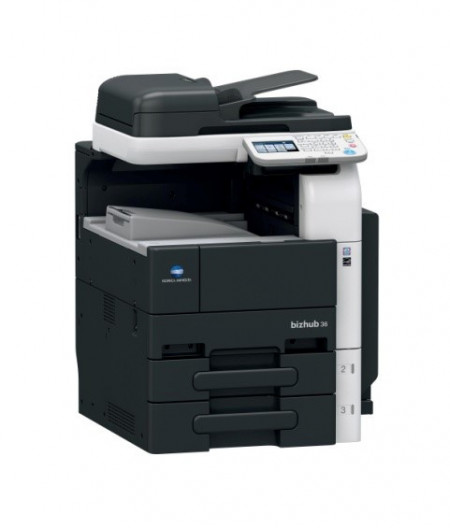 Poze Inchiriere copiator alb negru A4 Bizhub 36
