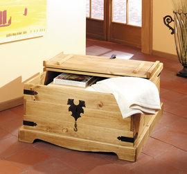 Poze 1507 Cufar dublu lemn masiv Mobila Henke