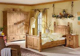 Poze 1485 Pat single lemn masiv Mobila Henke
