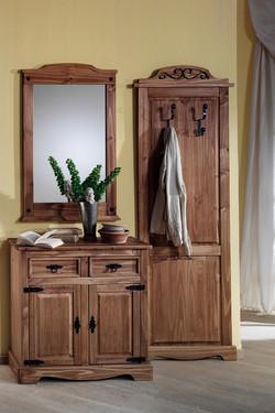 Poze 1533 Garderoba lemn masiv Mobila Henke