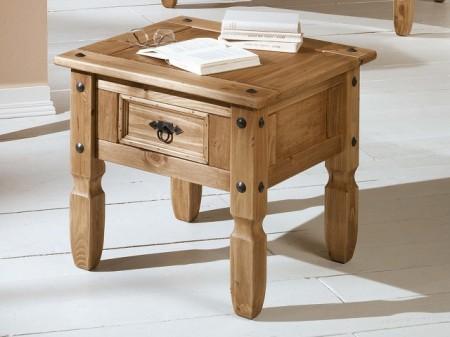 Poze 1532 Masuta de servit 1 sertar lemn masiv