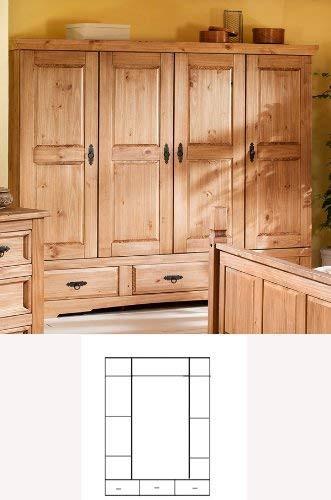 Poze 1489 Dulap 4usi lemn masiv Mobila Henke