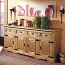 1502 Comoda lemn masiv 4usi 4 sertare Henke