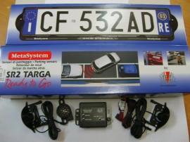 Senzori de parcare cu suport de numar Meta SR2 Targa