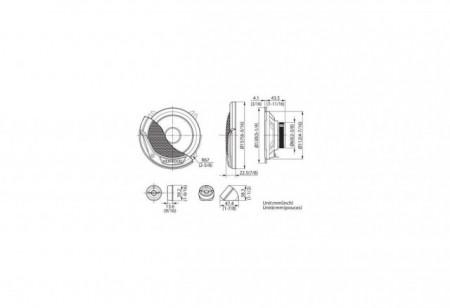 Difuzoare Componente 13CM KENWOOD KFC-E130P 30W RMS
