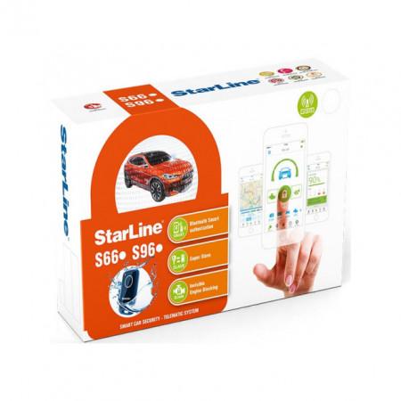 Alarma Auto Cu Pornire Motor Din Telefon, StarLine S96BT GSM