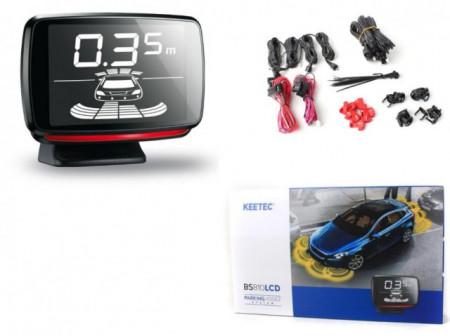 Senzori de parcare fata + spate Keetec BS810 LCD