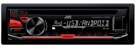 JVC KD-R471E - Receptor CD 1 DIN; USB (1A); AUX-in frontal; Compatibil Bluetooth; Subwoofer control; Aplicatii pentru Android