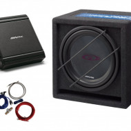 Kit Audio Alpine SBG-1244BR +MRV-M250 + 350940