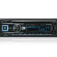 CD Player auto Alpine CDE-193BT, 4 x 50 W, 1 DIN, USB
