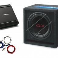 Pachet Audio ALPINE SBG-1044 BR + MRV-M250 + 350940