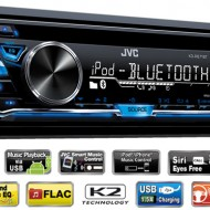 Radio MP3 Player Auto JVC KD-R871BT USB AUX Bluetooth
