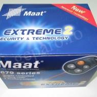 Alarma auto cu telecomanda Maat 679 extreme2