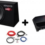 Pachet Audio KENWOOD KSC-W1200B + KAC-PS702EX + LK-10