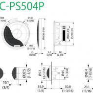 Difuzoare Auto Componente KENWOOD KFC-PS504P 13CM 45W RMS