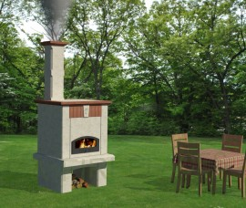 Barbecue AVIGNON MODULO 3 - CUPTOR PIZZA
