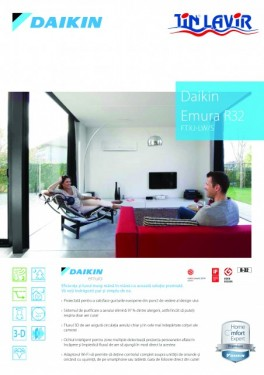 Poze UNITATE INTERNA MULTI SPLIT - DAIKIN EMURA R-32 FTXJ50MS