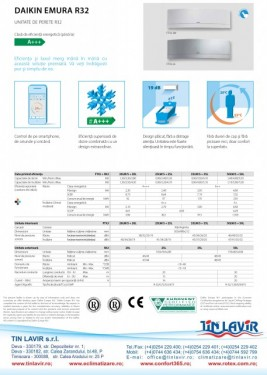 Poze UNITATE INTERNA MULTI SPLIT - DAIKIN EMURA R-32 FTXJ20MS