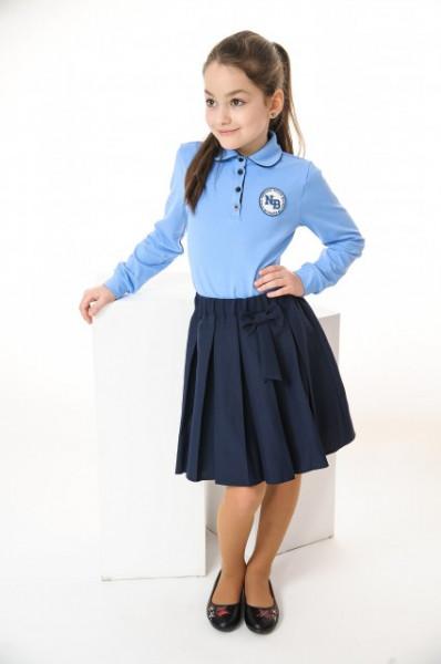 Fusta scoala pliuri bleumarin Adelle