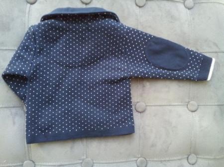 Sacou Baieti tricotat A2 botez