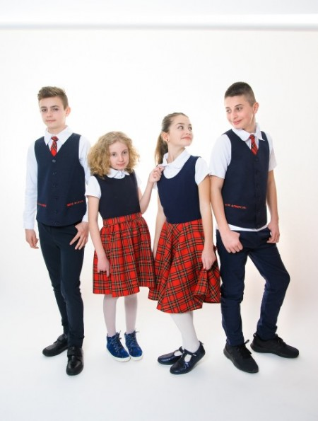 Sarafan scoala fete Anya