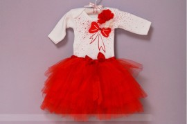 Set body si tutu Red Roses