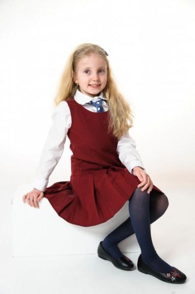 Camasa scoala fete Ella alba