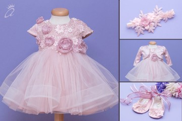 Set botez 4 piese Dusty Pink Reveries