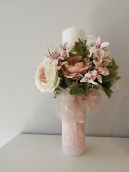 Lumanare botez Bouquet Treasure
