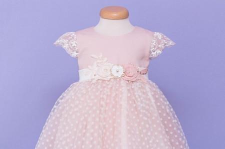 Rochie botez Blushing Princess