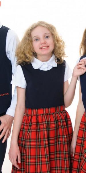 Sarafan fete scoala Izabela