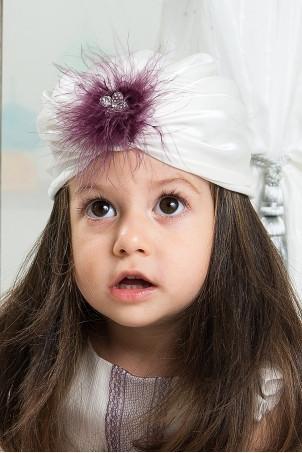 Turban fetite Purple Aisha