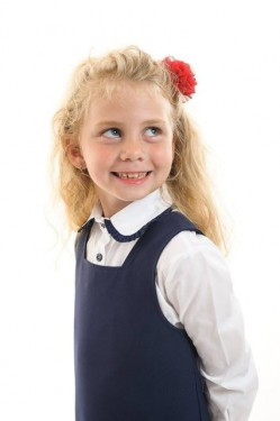 Camasa scoala fete Ella contrast