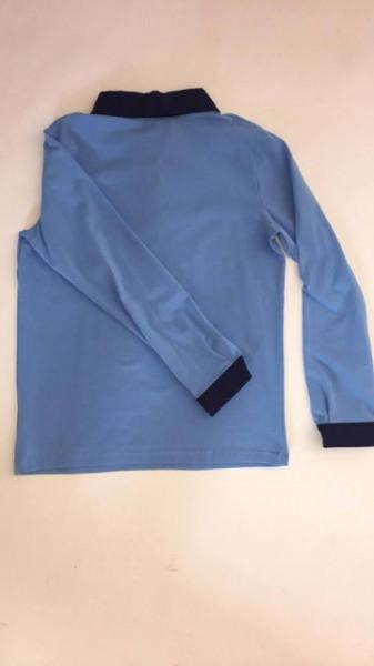 Bluza scoala albastra fete Evelina