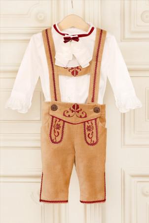 Costum baieti lux Captain