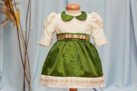 "Rochita botez ""Magic Green"""