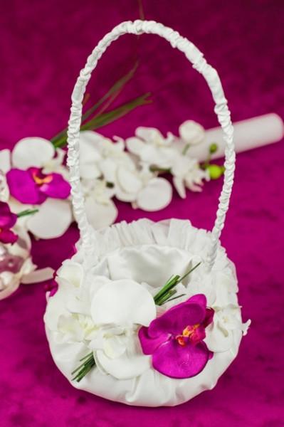 Trusou botez Orhidee- cosulet pentru cruciulite