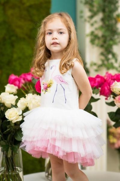 Rochie de lux Two Flamingos